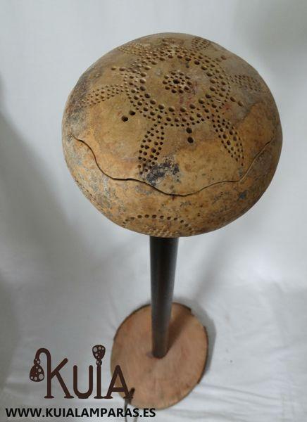 Lámpara de pie artesanal Mara (14)