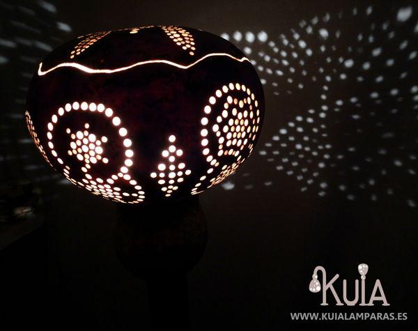 Lámpara de pie artesanal Mara (5)