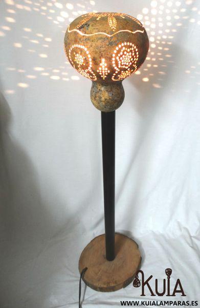 Lámpara de pie artesanal Mara (9)