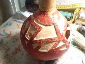 Lampara artesania egipcia