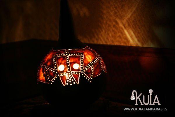 lampara de decoracion ecologica akesha