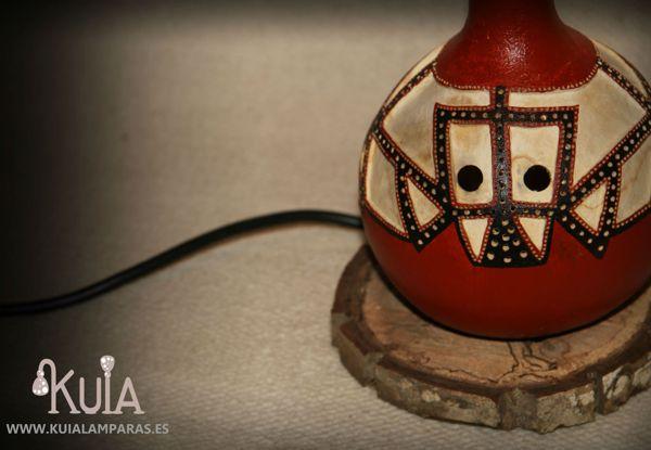 lampara de estilo egipcio akesha