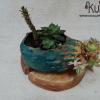 decoracion ecologica con maceteros