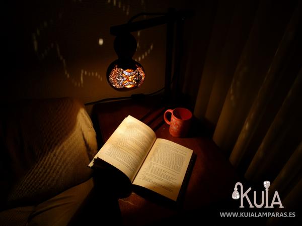 lampara de escritorio artesanal olimpus