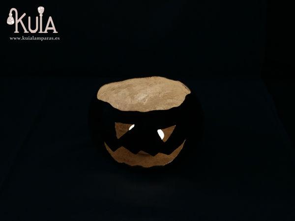 portavelas de miedo halloween