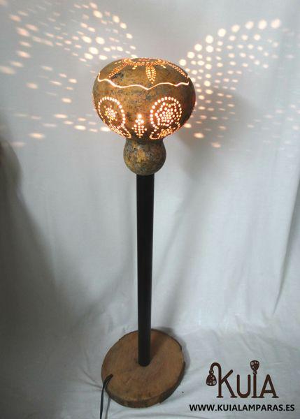 lampara de pie de interiores mara