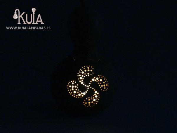 lampara de mesa lauburu pequeña