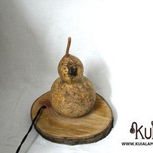 lampara de madera para regalo lauburu