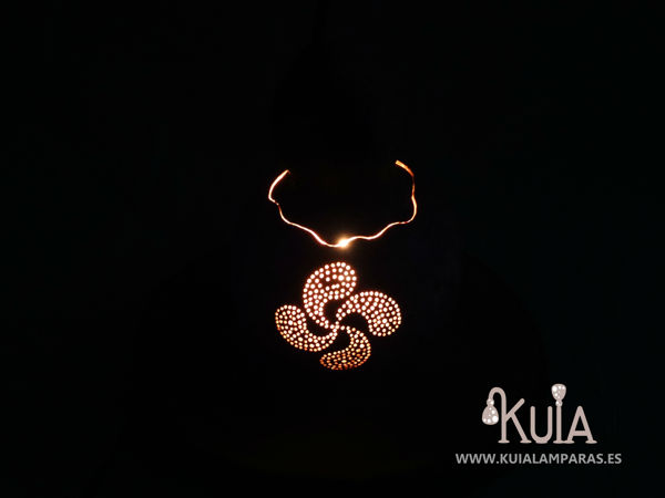 lamparita de noche para niños lauburu mdera