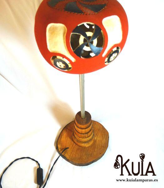lampara artesanal de diseño static