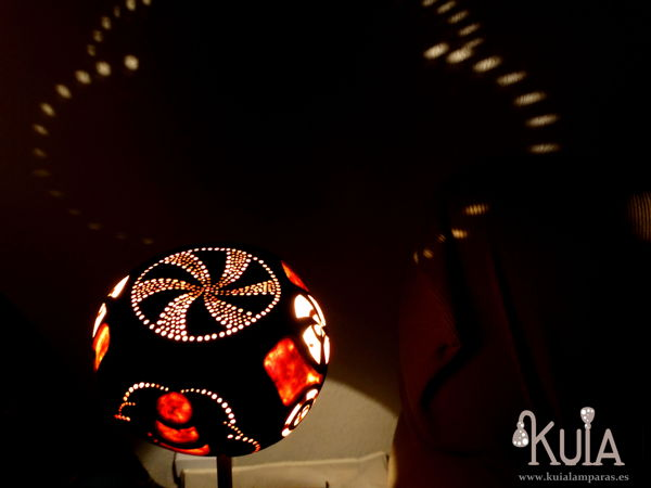 lampara ecologica decorativa static