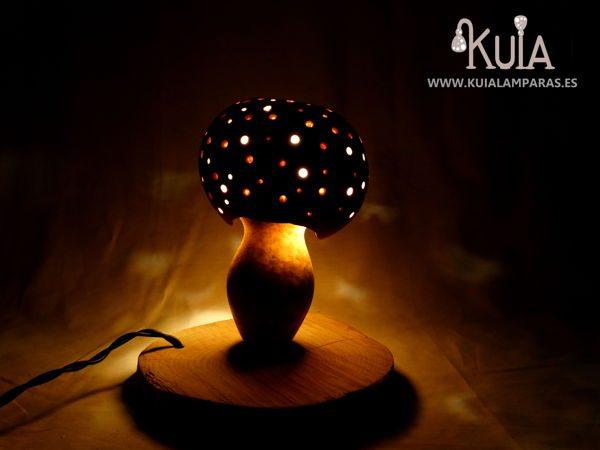 lampara decorativa ecologica amanita