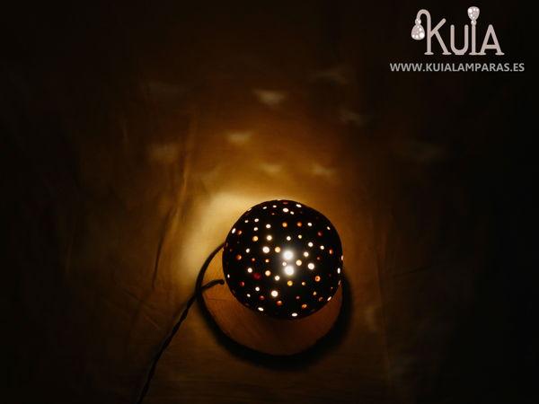 lampara de decoracion de seta amanita