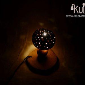 lampara ecologica de seta amanita