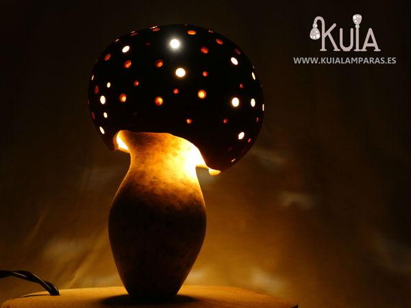 lampara de regalo original amanita