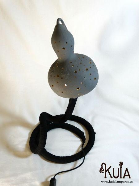 lampara artesana para restaurantes serp black