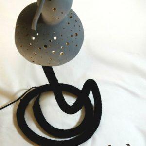lampara para decoracion de interiores serp black