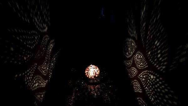 lampara de proyecciones decorativas eve
