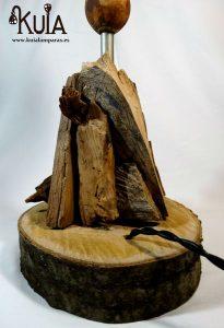 base de madera artesana strom