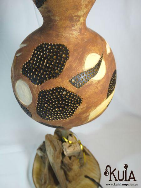 lampara de mesa rustica strom