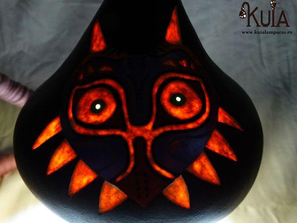 lampara majoras mask personalizada