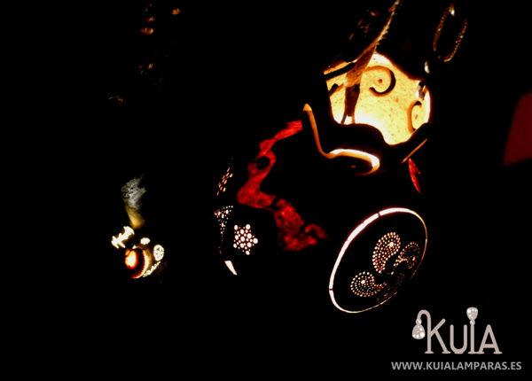 farolillo artensan de decoracion korua