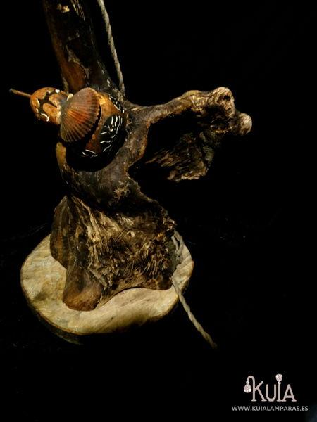 lampara rustica artesanal korua
