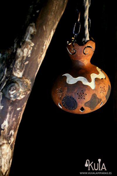 farol artesanal rustico korua