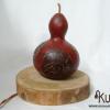 lampara rustica de madera picture