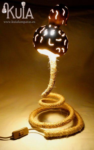 lampara de mesilla para bares serp rayas