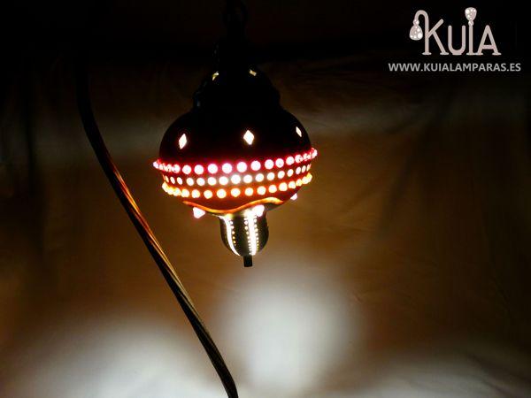 lampara artesanal de decoracion junus