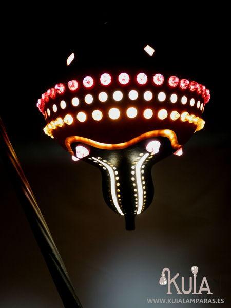 lampara decoracion de interiores turcos junus