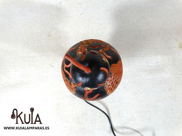 lampara de mesilla turca kabak