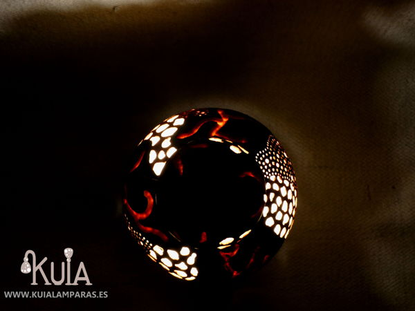 lampara turca de diseño kabak