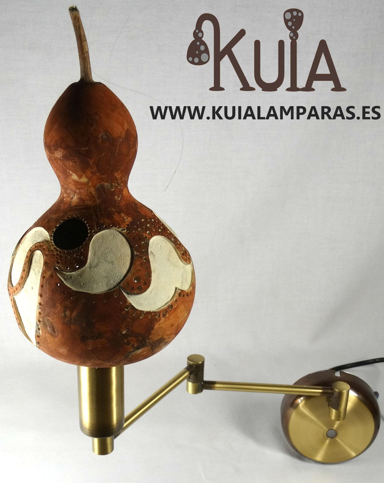 lampara de pared rustica lauburu 2