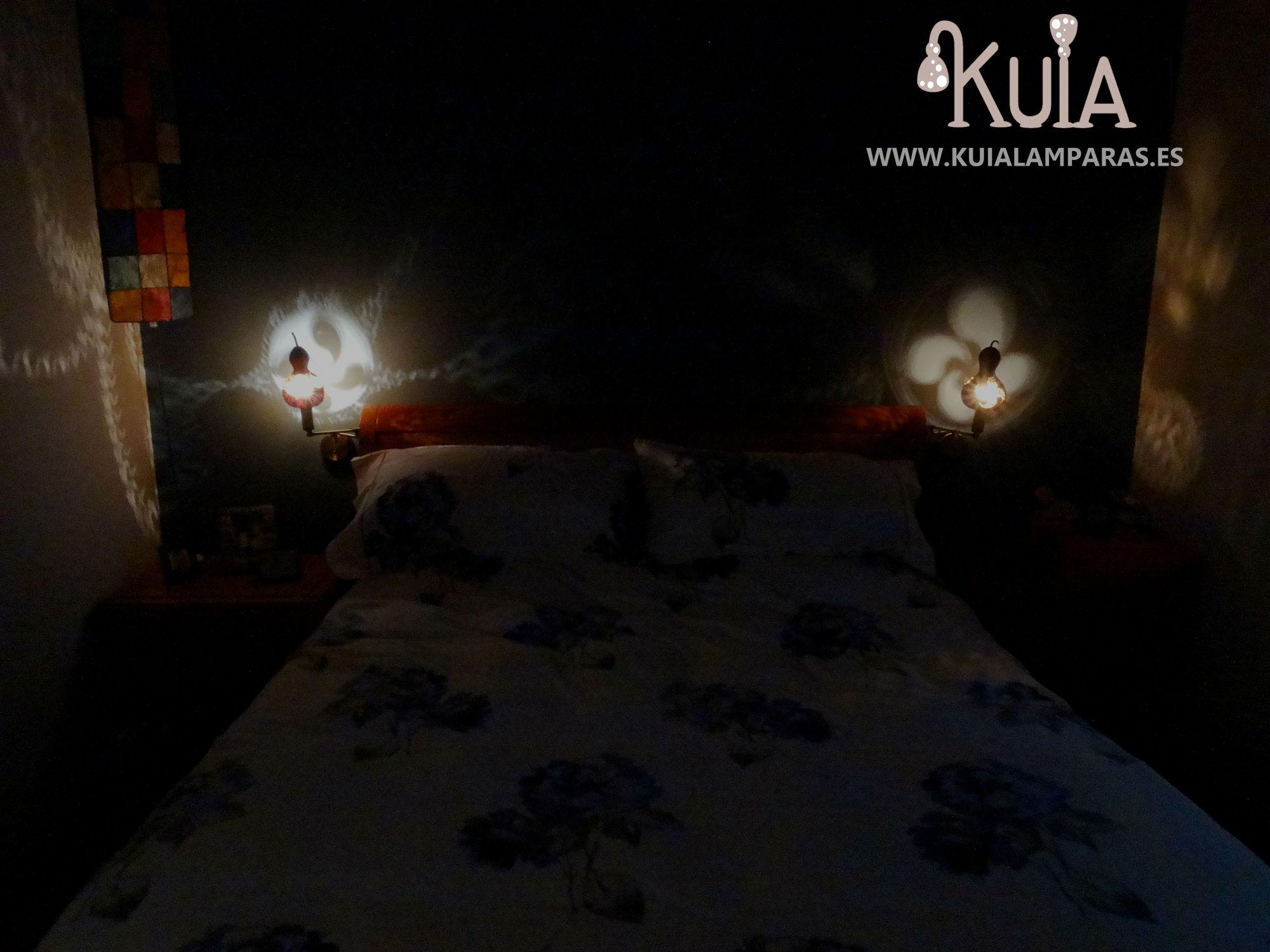 lamparas de pared artesanales decorativas lauburu2