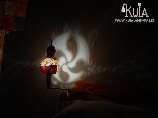 lampara para cama rustica lauburu2