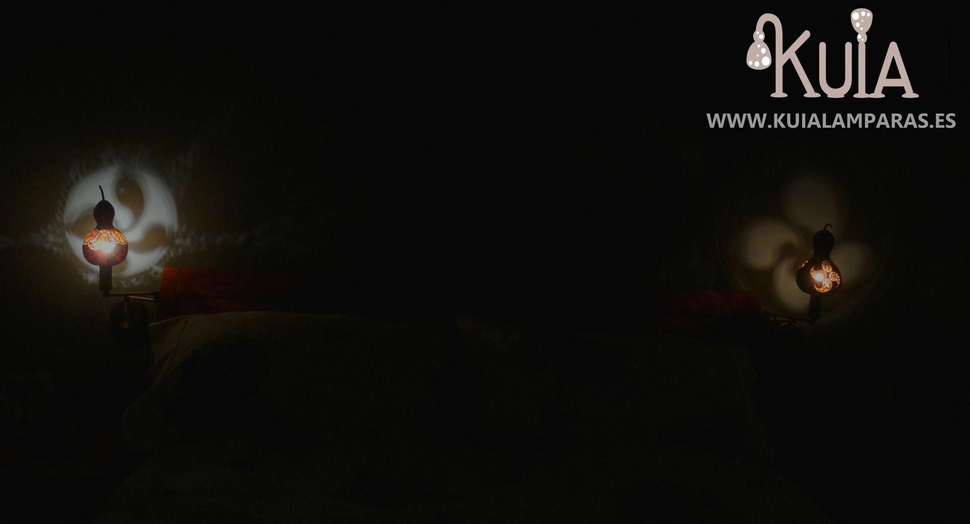 lamparas de pared de luz ambiental lauburu2