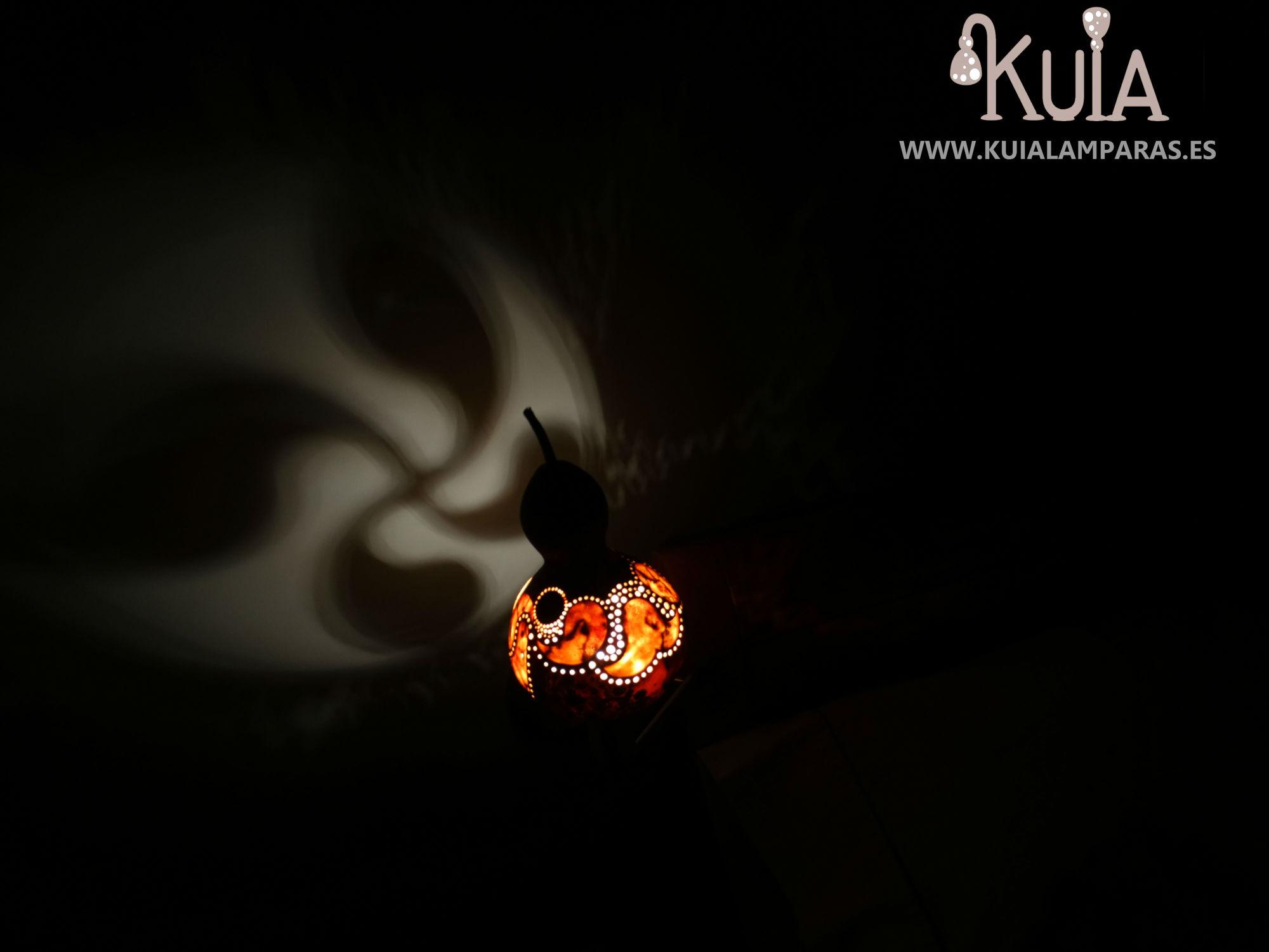 lampara de noche decorativa lauburu2