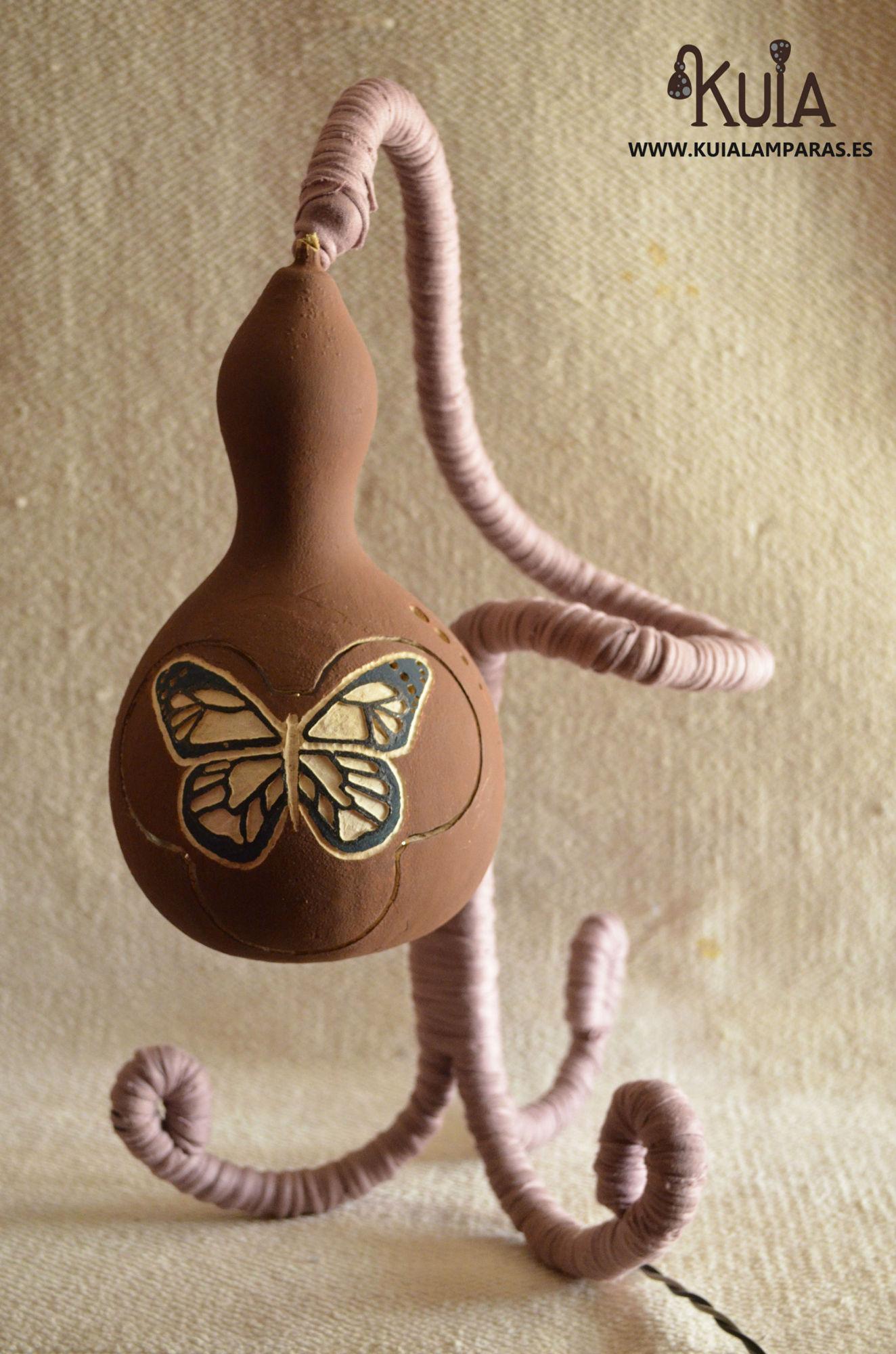 lampara artesana ecologica pinpilinpauxa