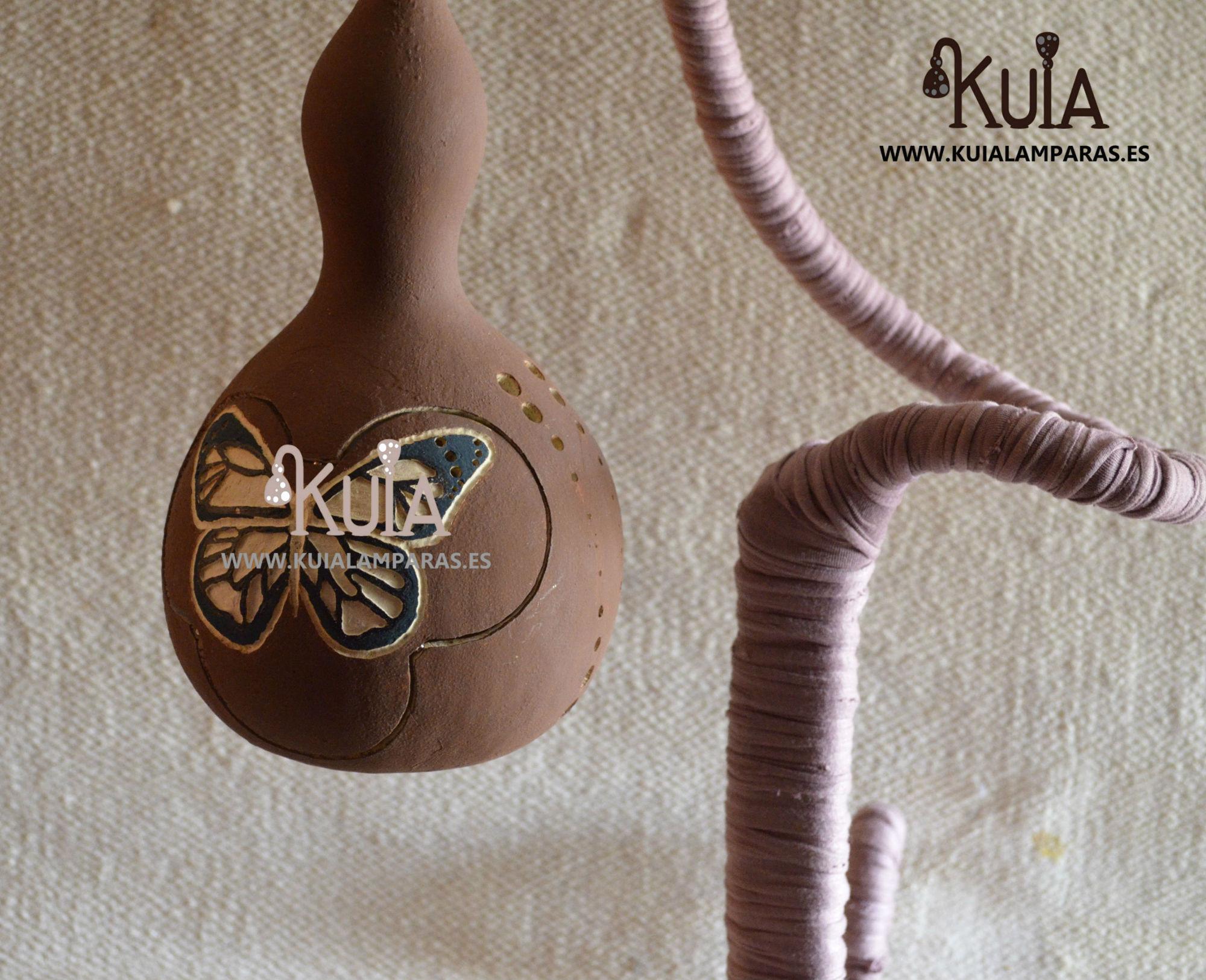 lampara artesana de decoracion pinpilinpauxa