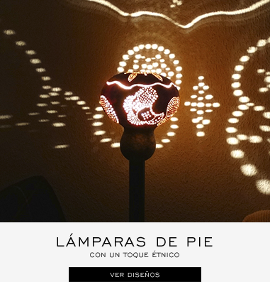 lamparas de pie decorativas