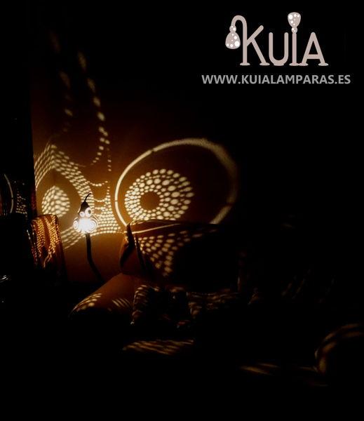 lampara decorativa con proyecciones bompet