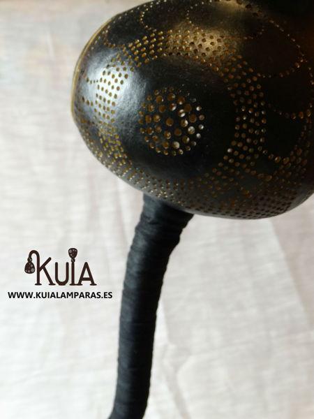 lampara hecha a mano bompet