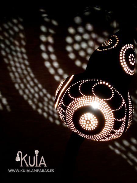 lampara de iluminacion con proyeccion bompet