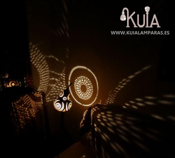 lampara de diseño de sombras bompet