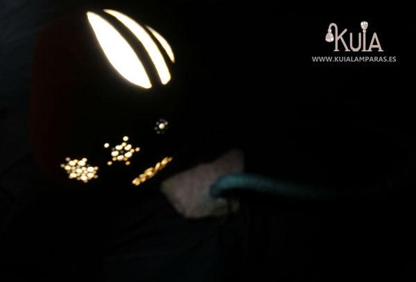 lampara artesanal de ambiente florek
