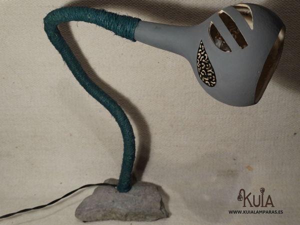 lampara de mesilla artesanal florek