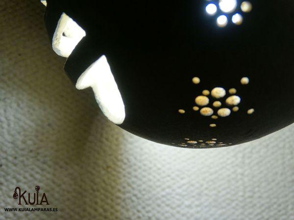 lampara artesana decorativa florek