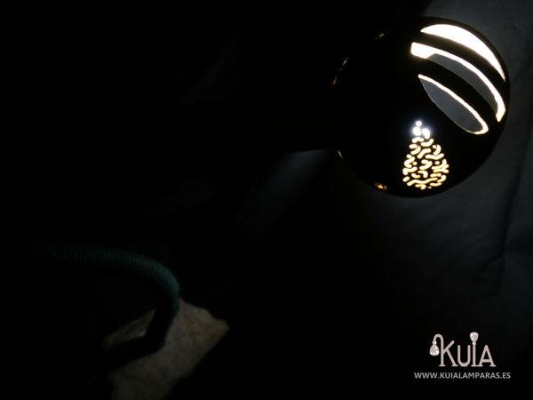 lampara de escritorio hecha a mano florek